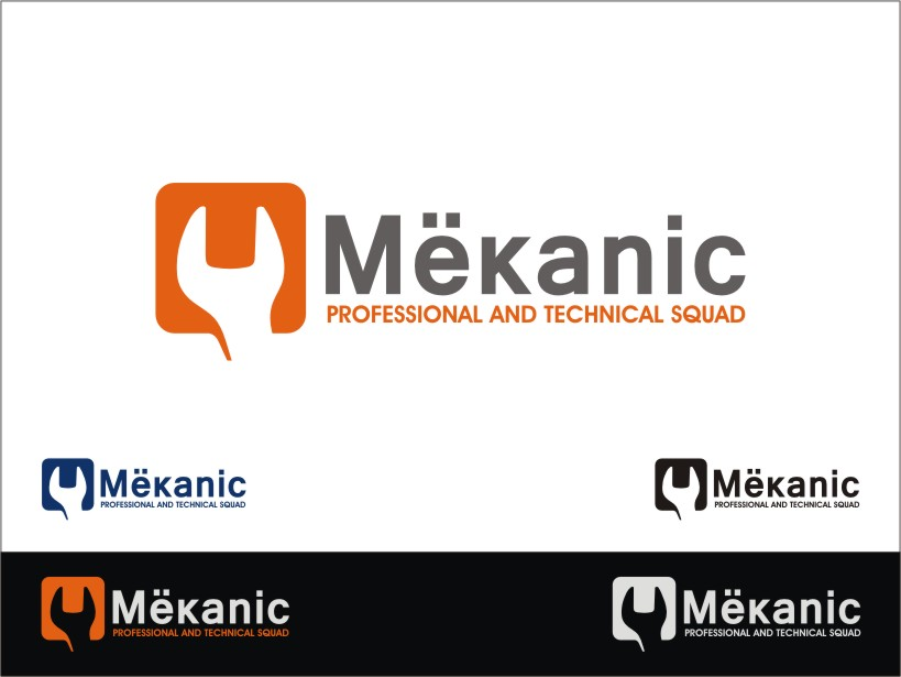 Logo Design by RED HORSE design studio - Entry No. 277 in the Logo Design Contest Creative Logo Design for MËKANIC - Professional and technical squad.