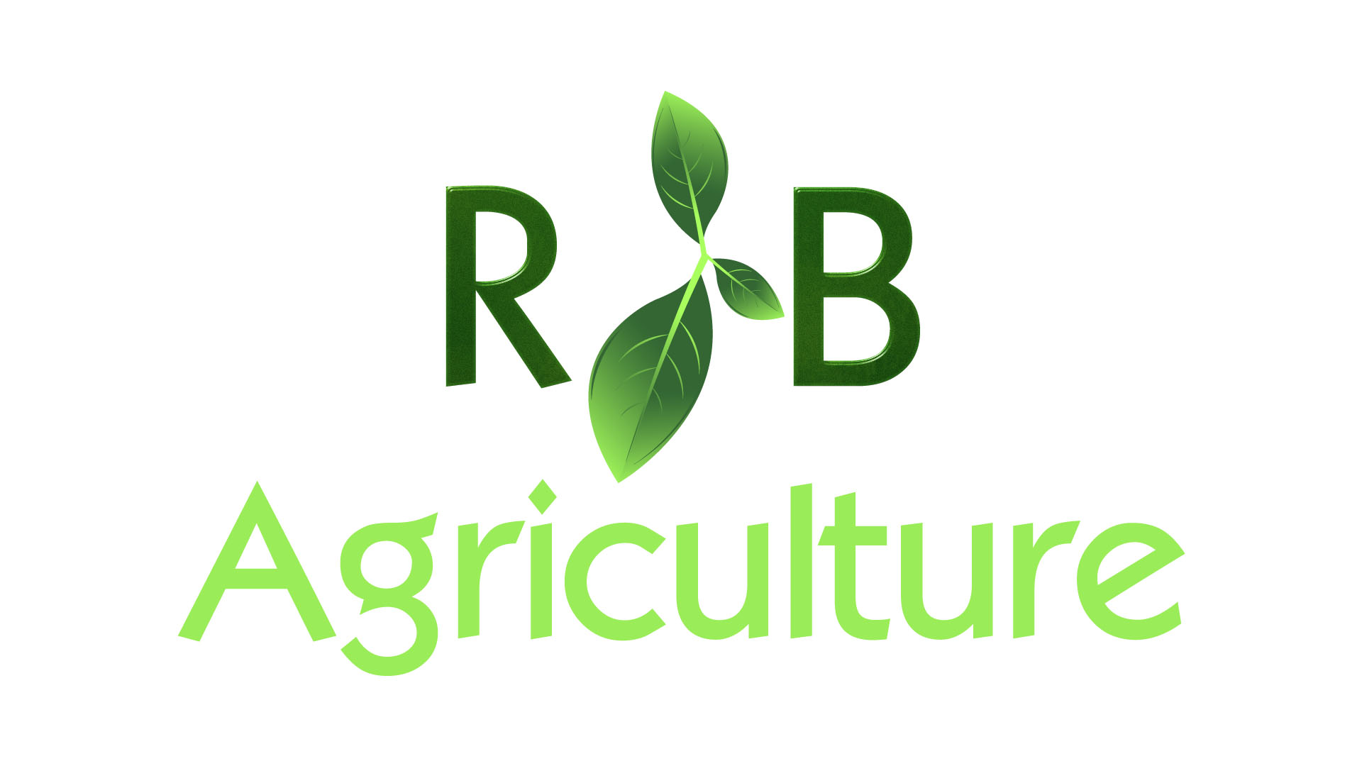 Logo Design by Mohammad Buhnad - Entry No. 80 in the Logo Design Contest Captivating Logo Design for R & B Agriculture.