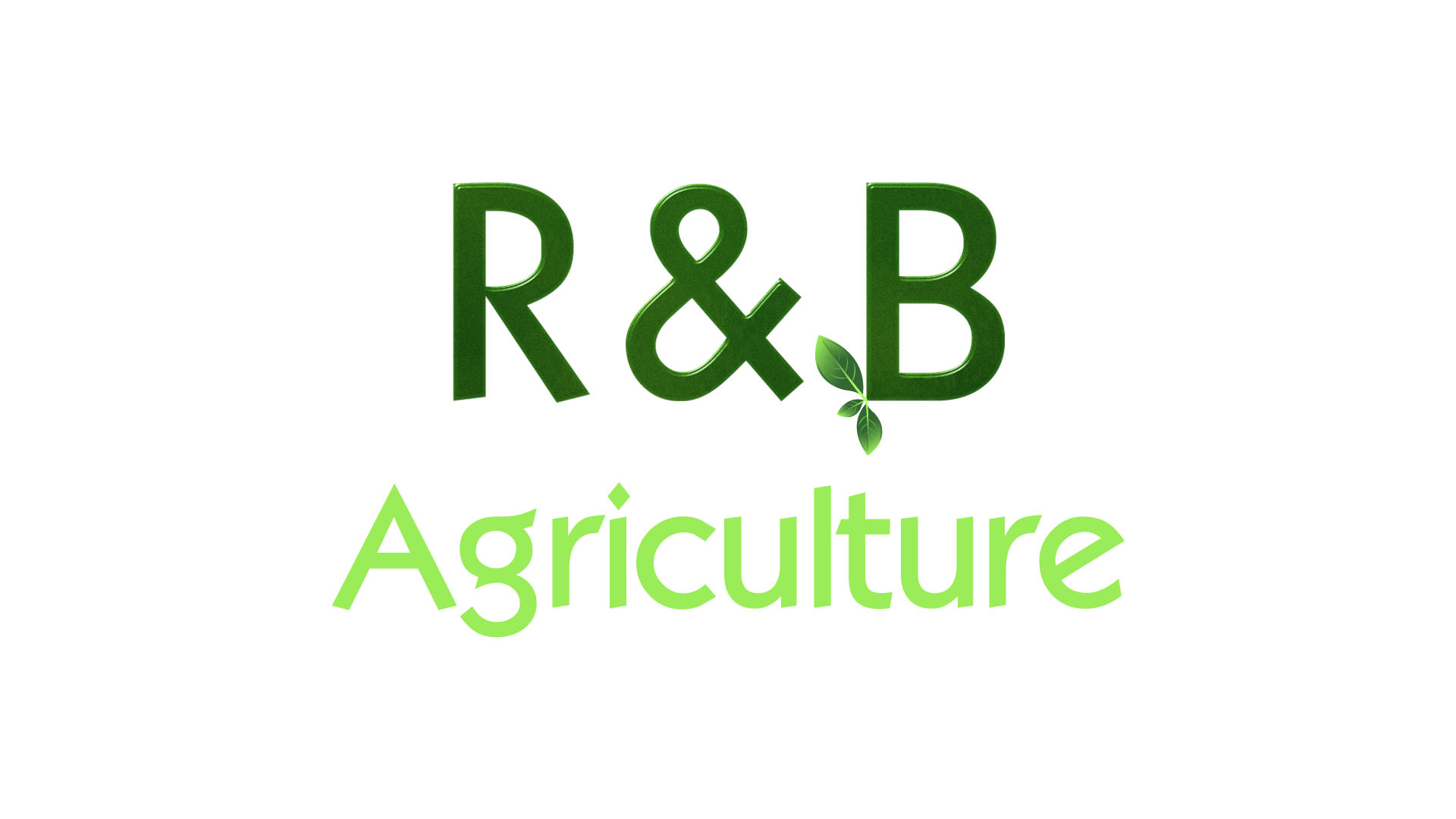 Logo Design by Mohammad Buhnad - Entry No. 86 in the Logo Design Contest Captivating Logo Design for R & B Agriculture.