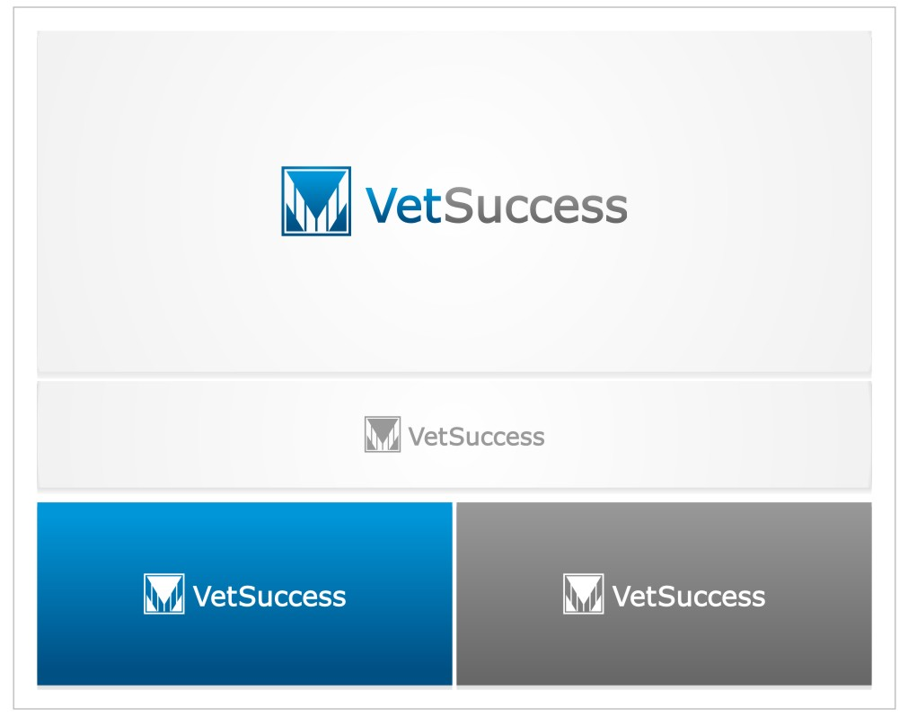 Logo Design by untung - Entry No. 21 in the Logo Design Contest Imaginative Logo Design for Vet Success Inc..