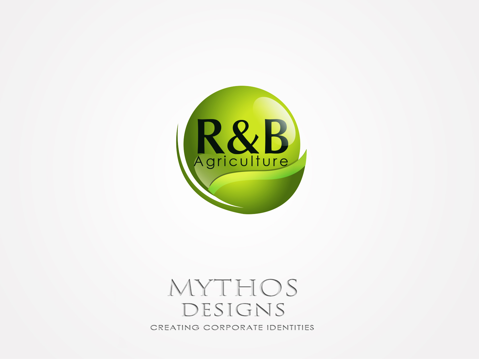 Logo Design by Mythos Designs - Entry No. 90 in the Logo Design Contest Captivating Logo Design for R & B Agriculture.
