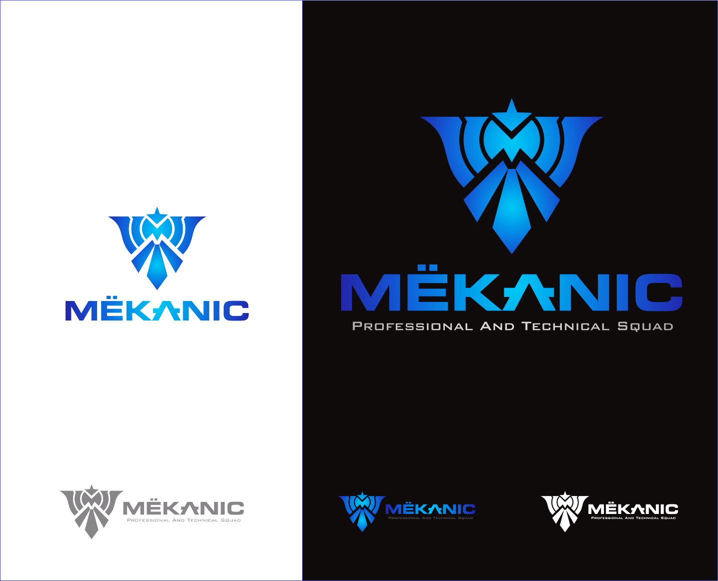 Logo Design by Armada Jamaluddin - Entry No. 279 in the Logo Design Contest Creative Logo Design for MËKANIC - Professional and technical squad.