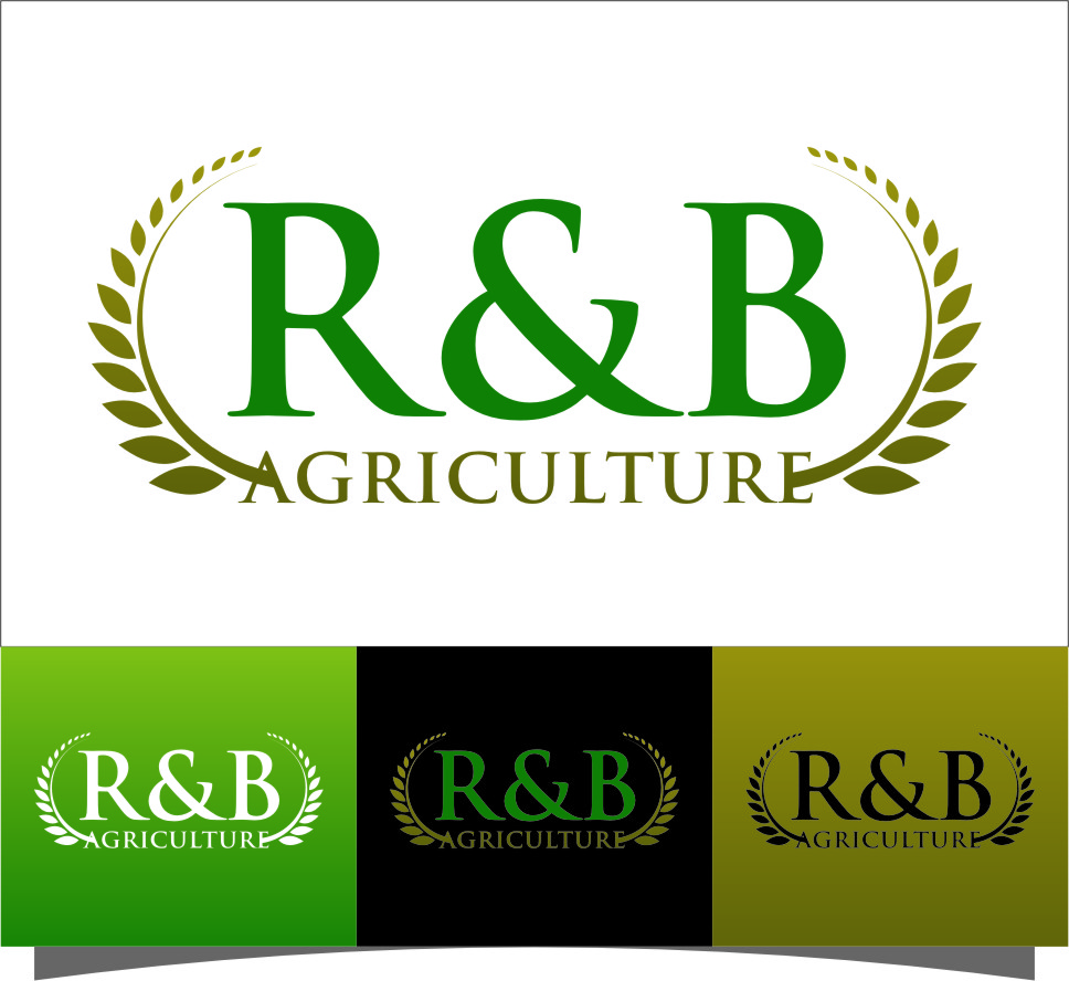 Logo Design by RoSyid Rono-Rene On Java - Entry No. 96 in the Logo Design Contest Captivating Logo Design for R & B Agriculture.