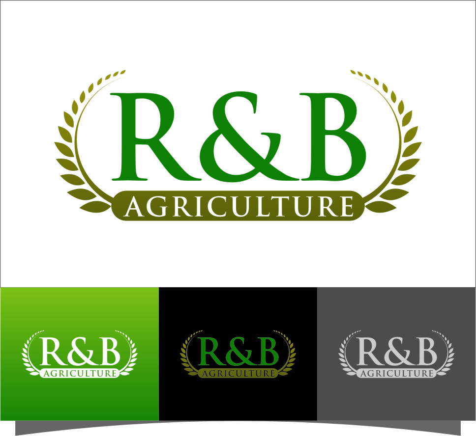 Logo Design by RasYa Muhammad Athaya - Entry No. 97 in the Logo Design Contest Captivating Logo Design for R & B Agriculture.