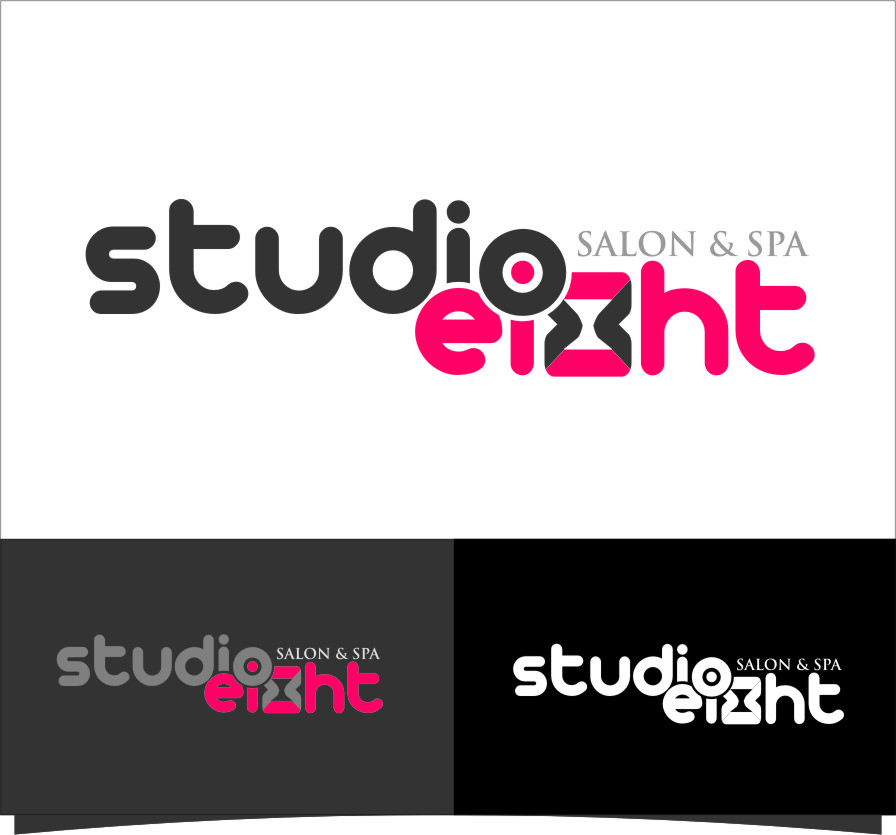 Logo Design by Ngepet_art - Entry No. 64 in the Logo Design Contest Captivating Logo Design for studio eight salon & spa.