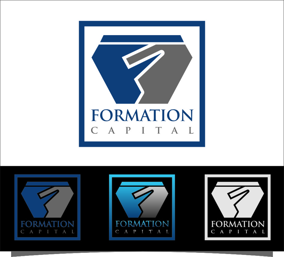 Logo Design by RasYa Muhammad Athaya - Entry No. 119 in the Logo Design Contest Inspiring Logo Design for Formation Capital.
