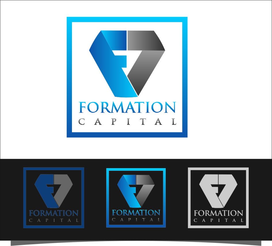 Logo Design by RoSyid Rono-Rene On Java - Entry No. 122 in the Logo Design Contest Inspiring Logo Design for Formation Capital.