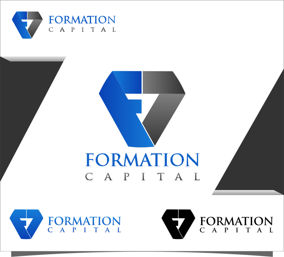 Logo Design by RasYa Muhammad Athaya - Entry No. 124 in the Logo Design Contest Inspiring Logo Design for Formation Capital.