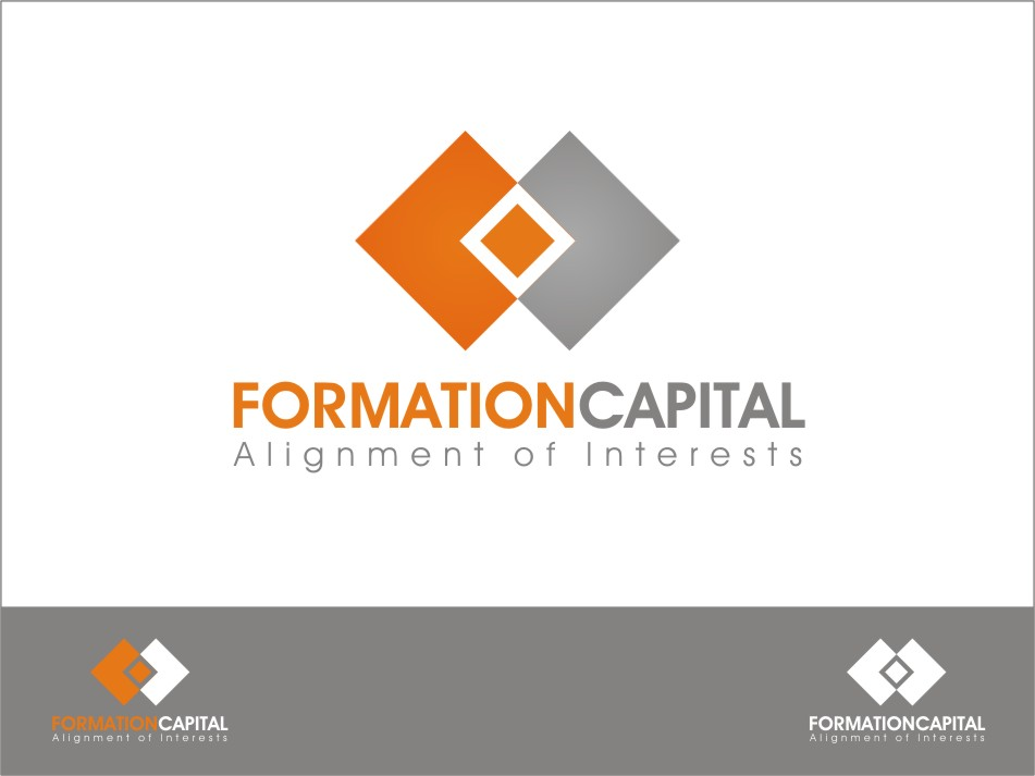 Logo Design by RED HORSE design studio - Entry No. 128 in the Logo Design Contest Inspiring Logo Design for Formation Capital.