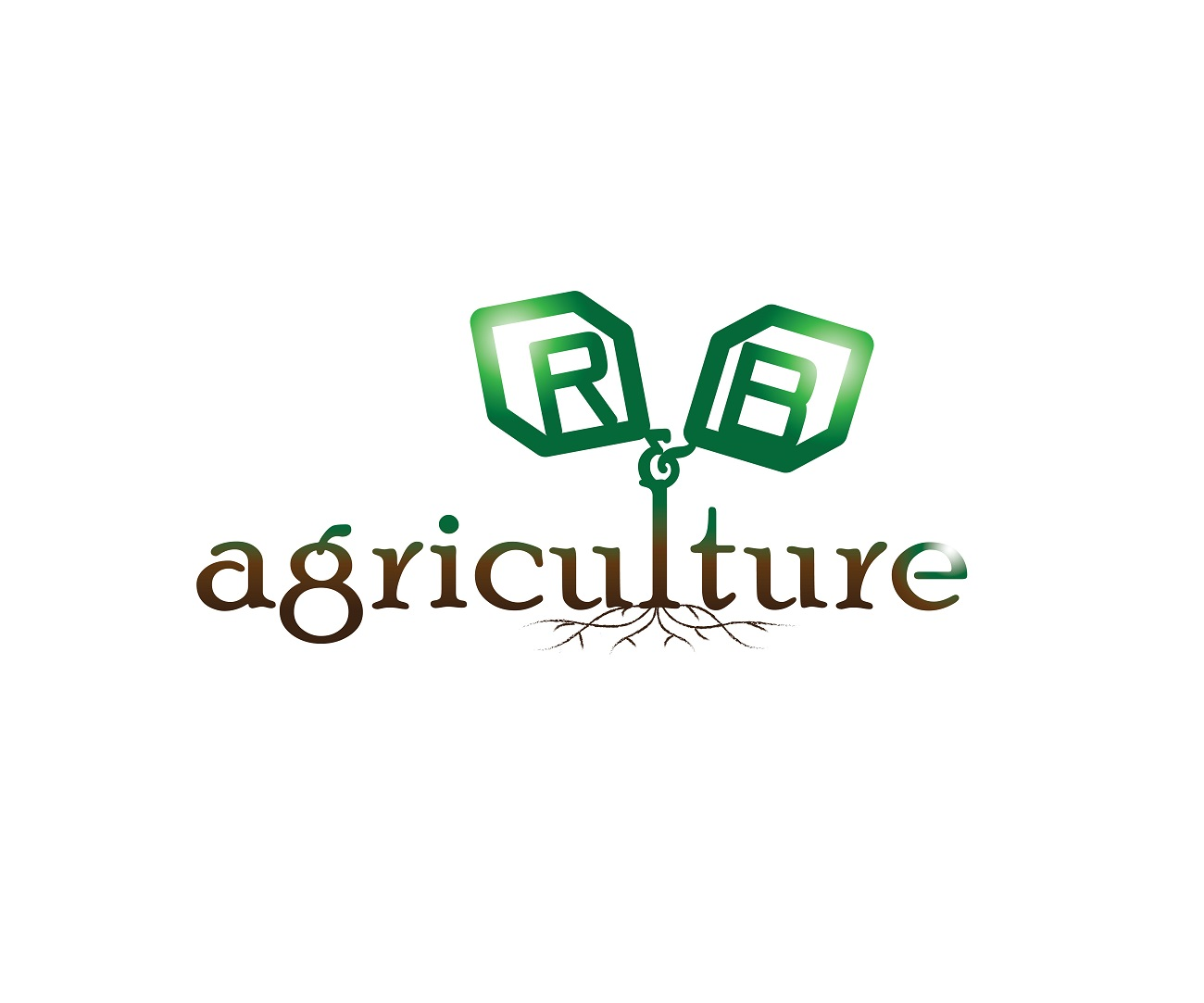 Logo Design by jhunzkie24 - Entry No. 102 in the Logo Design Contest Captivating Logo Design for R & B Agriculture.
