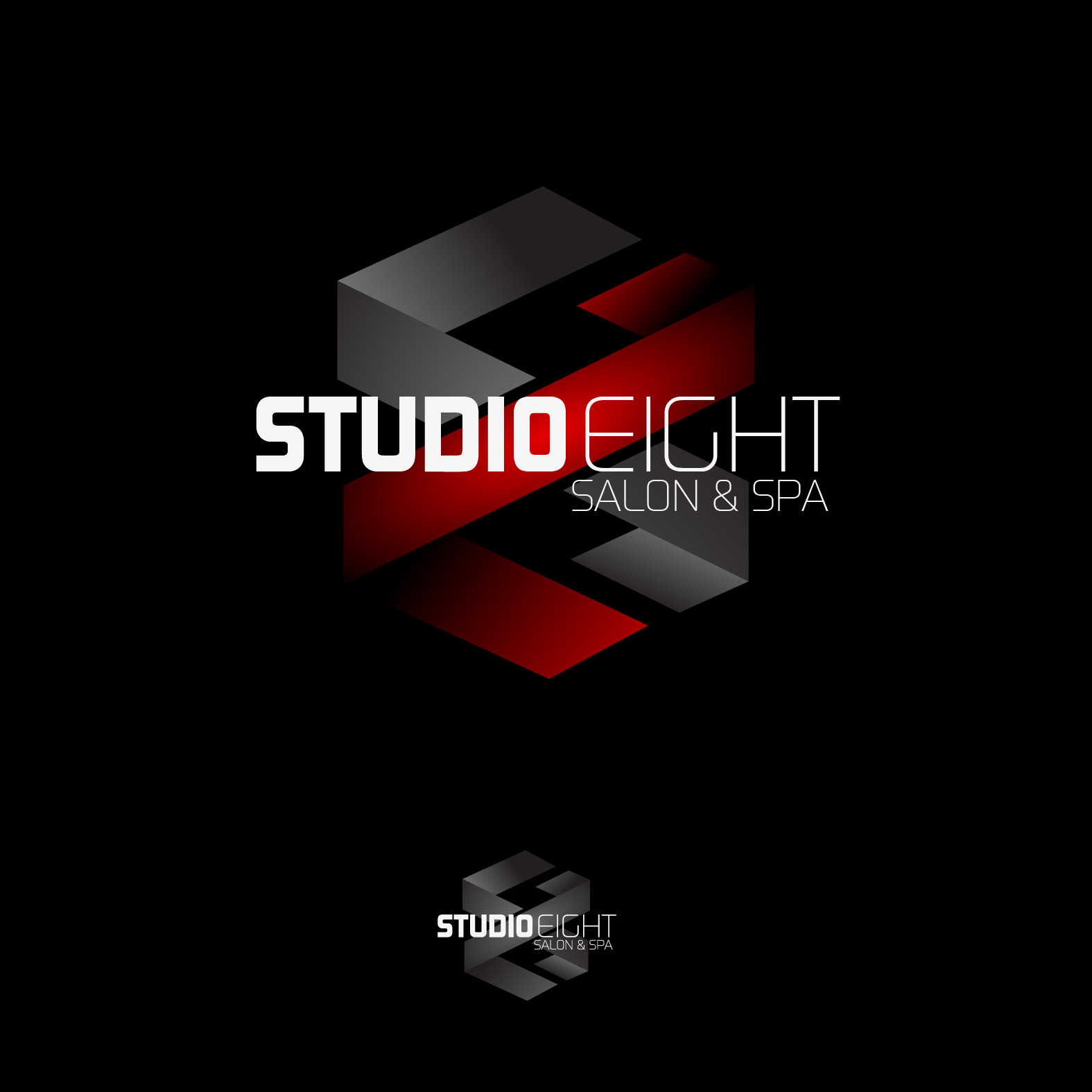 Logo Design by lagalag - Entry No. 66 in the Logo Design Contest Captivating Logo Design for studio eight salon & spa.