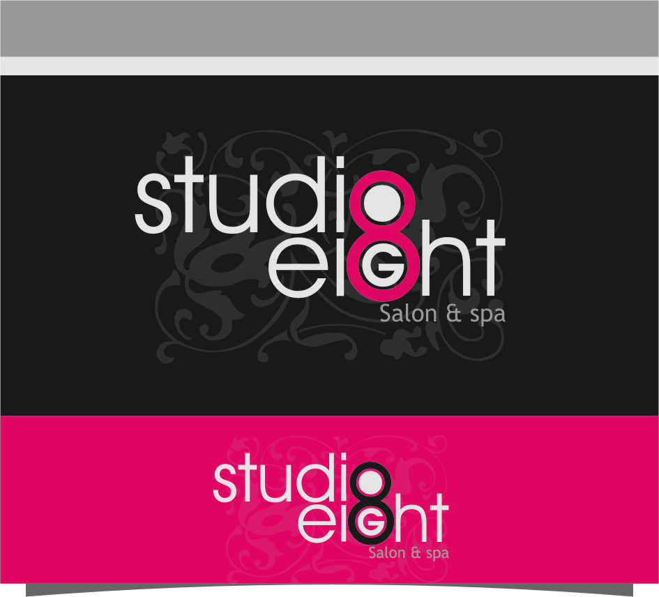 Logo Design by RasYa Muhammad Athaya - Entry No. 67 in the Logo Design Contest Captivating Logo Design for studio eight salon & spa.