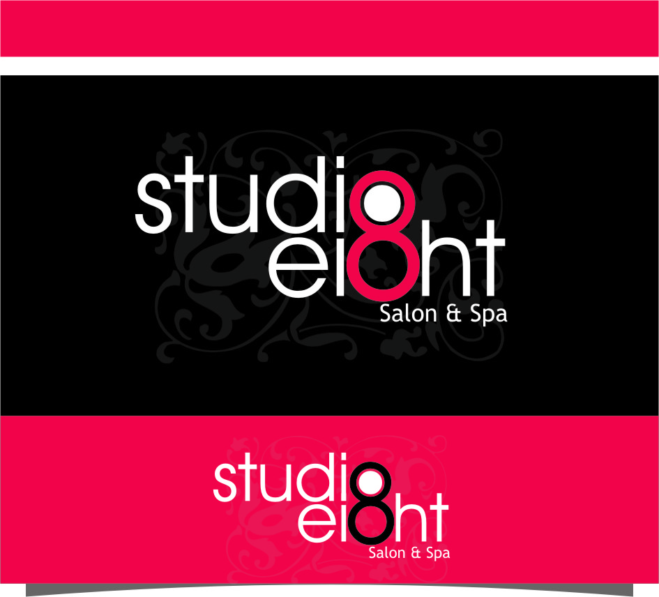 Logo Design by RasYa Muhammad Athaya - Entry No. 69 in the Logo Design Contest Captivating Logo Design for studio eight salon & spa.