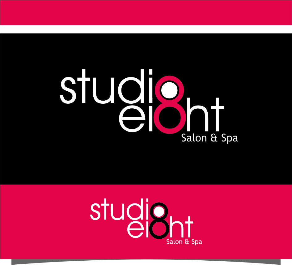 Logo Design by Ngepet_art - Entry No. 70 in the Logo Design Contest Captivating Logo Design for studio eight salon & spa.