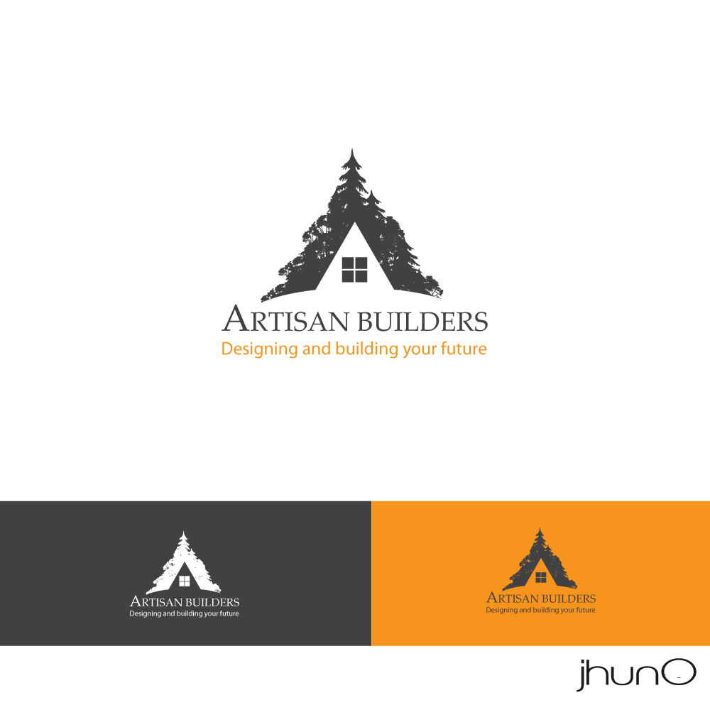 Logo Design by zesthar - Entry No. 9 in the Logo Design Contest Captivating Logo Design for Artisan Builders.