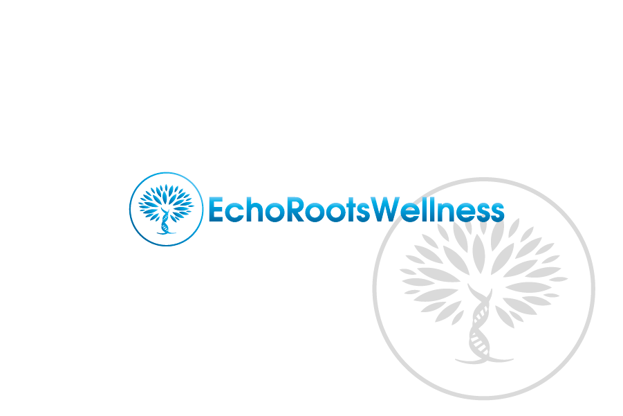 Logo Design by Private User - Entry No. 35 in the Logo Design Contest Funky Logo Design for Echo Roots Wellness.