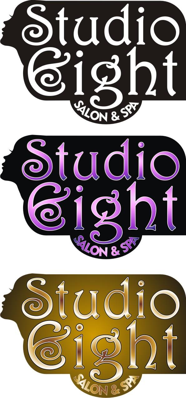 Logo Design by Korsunov Oleg - Entry No. 71 in the Logo Design Contest Captivating Logo Design for studio eight salon & spa.
