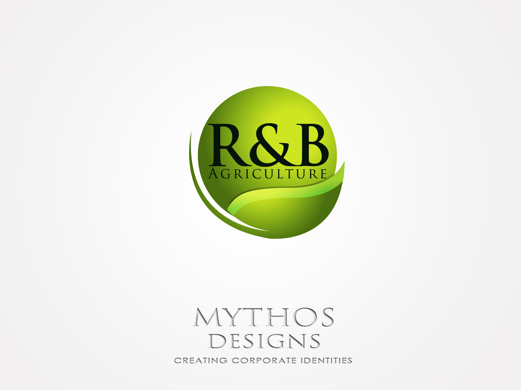Logo Design by Mythos Designs - Entry No. 103 in the Logo Design Contest Captivating Logo Design for R & B Agriculture.