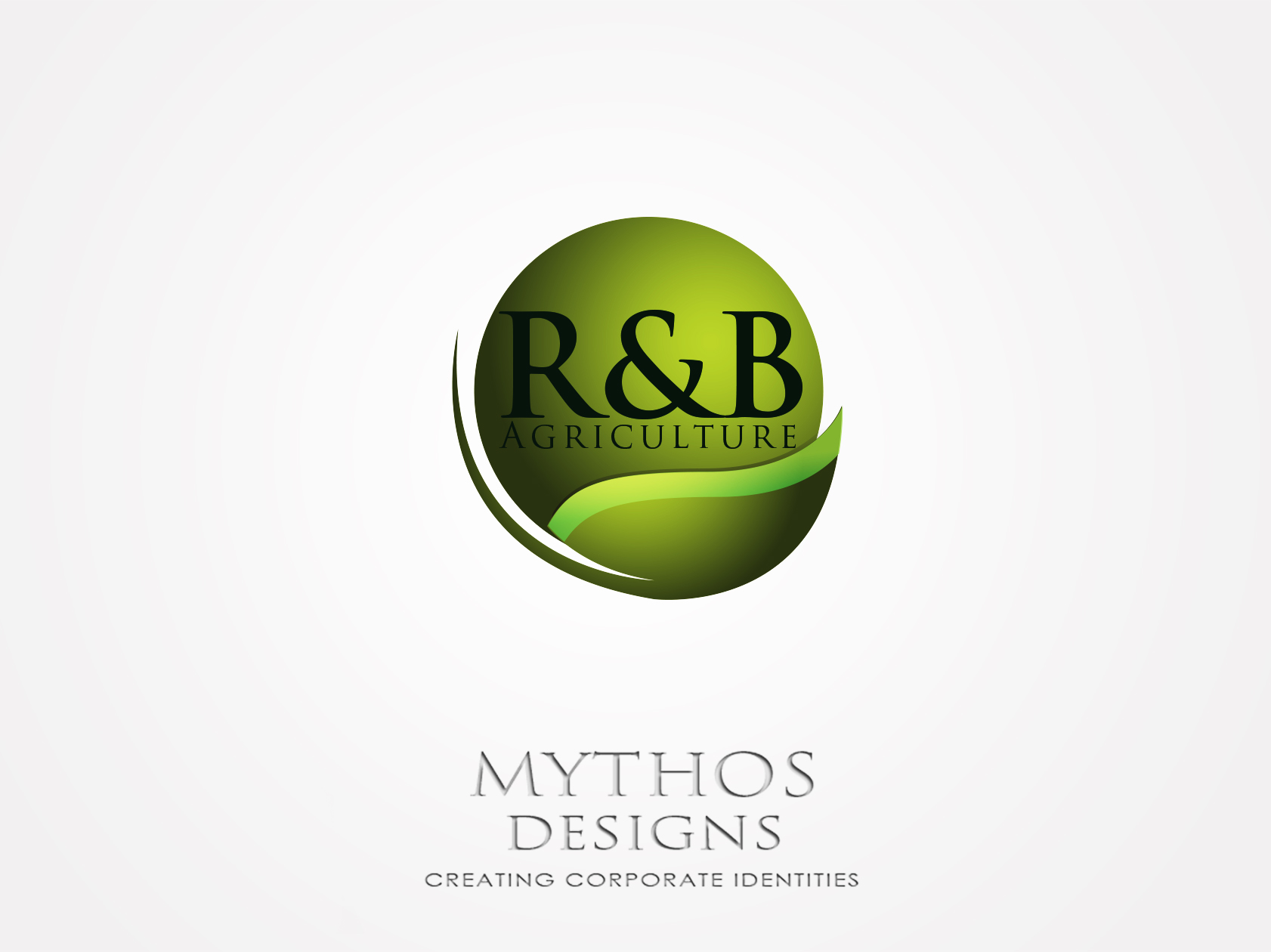 Logo Design by Mythos Designs - Entry No. 104 in the Logo Design Contest Captivating Logo Design for R & B Agriculture.