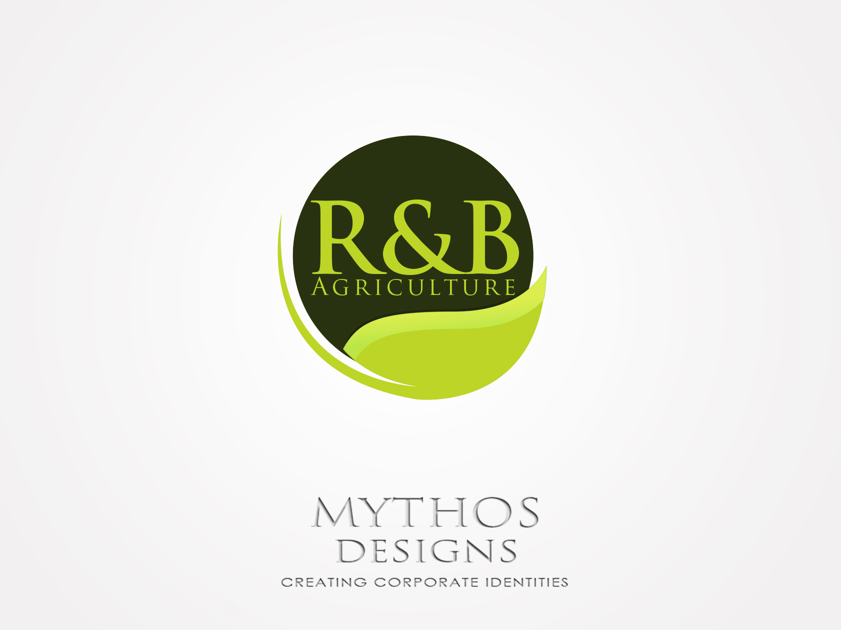Logo Design by Mythos Designs - Entry No. 105 in the Logo Design Contest Captivating Logo Design for R & B Agriculture.