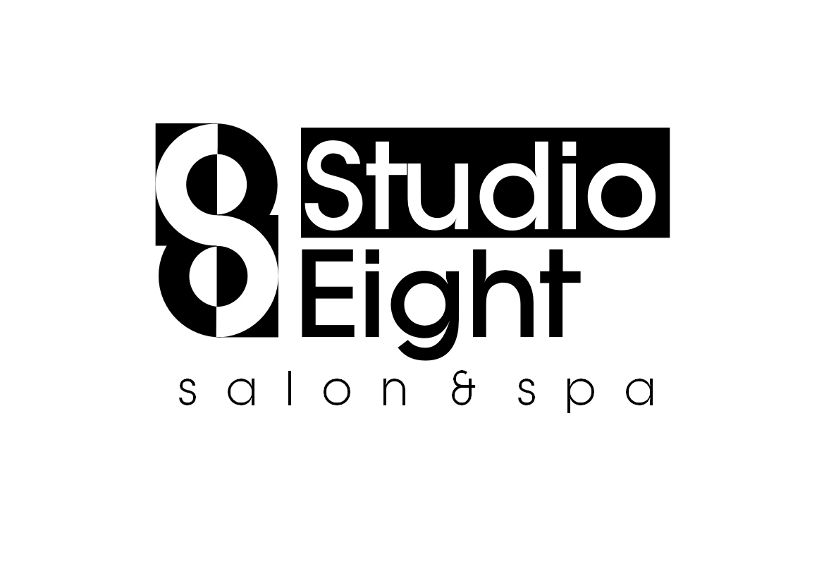 Logo Design by Heri Susanto - Entry No. 72 in the Logo Design Contest Captivating Logo Design for studio eight salon & spa.