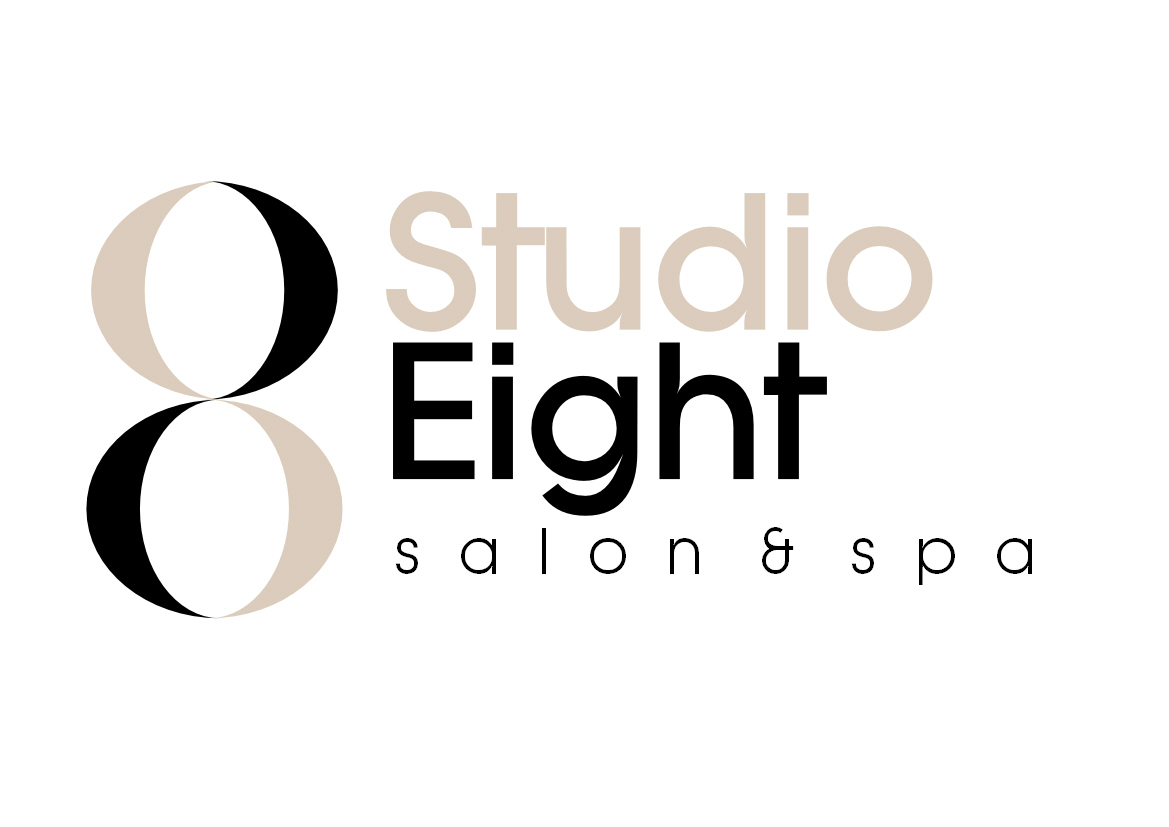Logo Design by Heri Susanto - Entry No. 74 in the Logo Design Contest Captivating Logo Design for studio eight salon & spa.