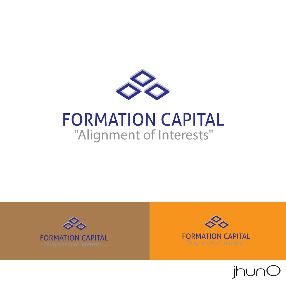 Logo Design by zesthar - Entry No. 143 in the Logo Design Contest Inspiring Logo Design for Formation Capital.