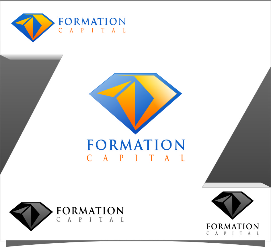 Logo Design by RasYa Muhammad Athaya - Entry No. 145 in the Logo Design Contest Inspiring Logo Design for Formation Capital.