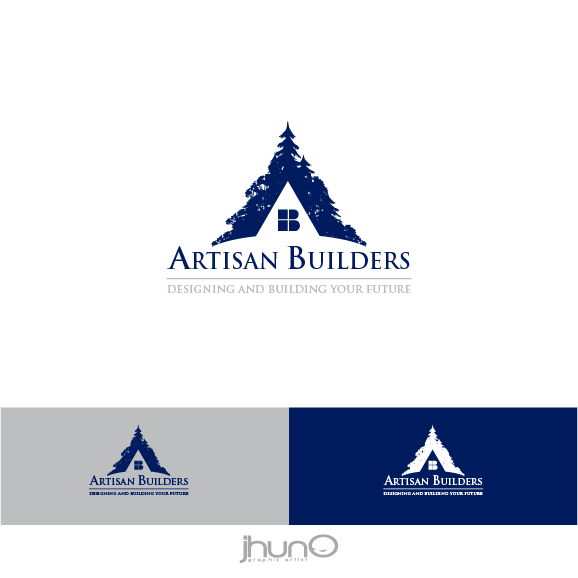 Logo Design by zesthar - Entry No. 12 in the Logo Design Contest Captivating Logo Design for Artisan Builders.