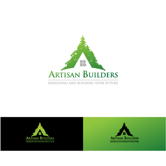 Logo Design by zesthar - Entry No. 17 in the Logo Design Contest Captivating Logo Design for Artisan Builders.