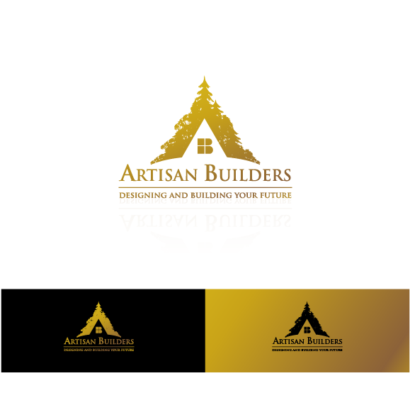 Logo Design by zesthar - Entry No. 18 in the Logo Design Contest Captivating Logo Design for Artisan Builders.