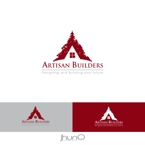 Logo Design by zesthar - Entry No. 19 in the Logo Design Contest Captivating Logo Design for Artisan Builders.