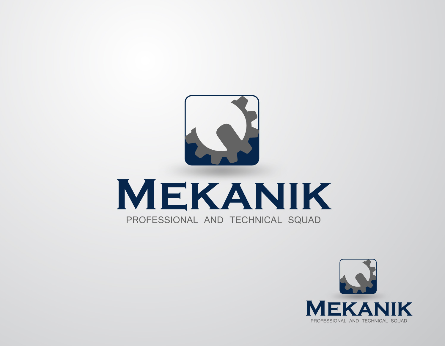 Logo Design by Mark Anthony Moreto Jordan - Entry No. 300 in the Logo Design Contest Creative Logo Design for MËKANIC - Professional and technical squad.