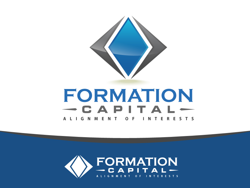 Logo Design by Richard Soriano - Entry No. 153 in the Logo Design Contest Inspiring Logo Design for Formation Capital.