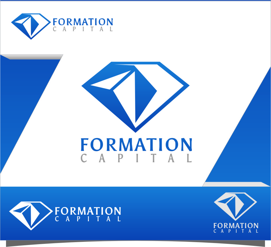 Logo Design by RasYa Muhammad Athaya - Entry No. 156 in the Logo Design Contest Inspiring Logo Design for Formation Capital.
