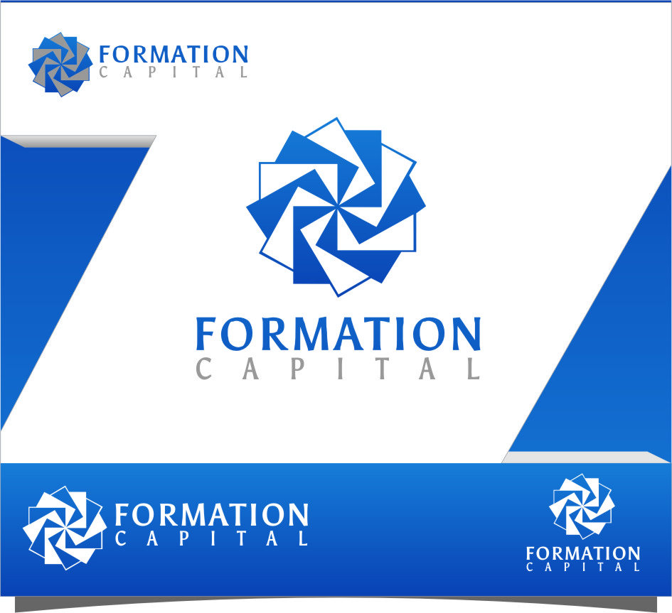 Logo Design by RasYa Muhammad Athaya - Entry No. 157 in the Logo Design Contest Inspiring Logo Design for Formation Capital.