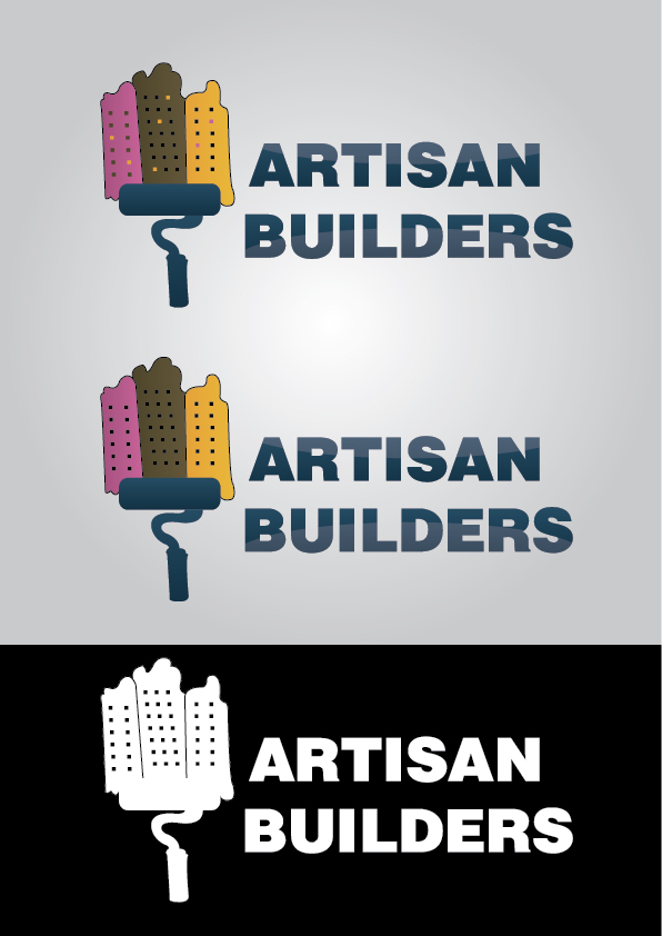 Logo Design by mediaproductionart - Entry No. 23 in the Logo Design Contest Captivating Logo Design for Artisan Builders.