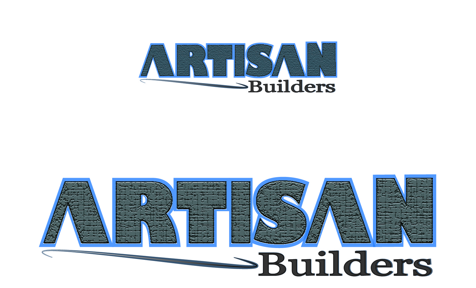 Logo Design by Susan Palmer - Entry No. 24 in the Logo Design Contest Captivating Logo Design for Artisan Builders.