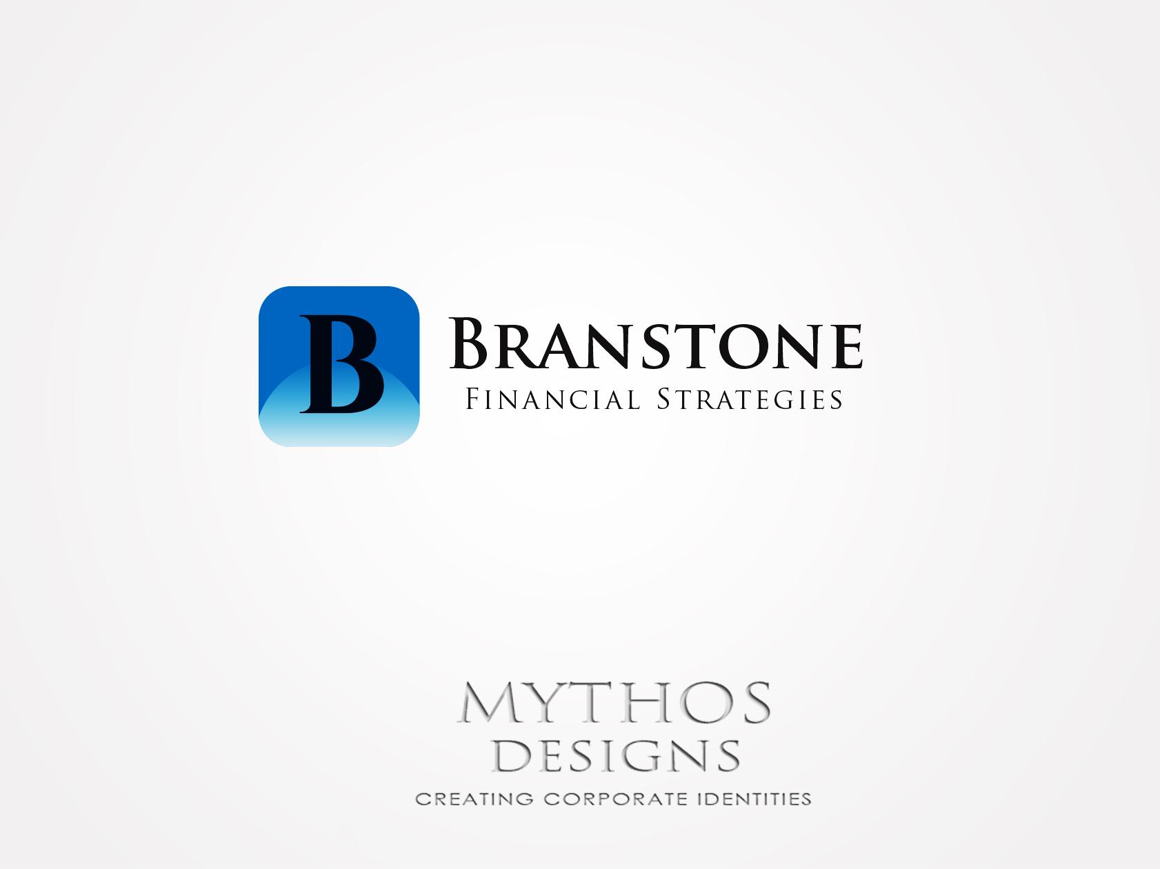 Logo Design by Mythos Designs - Entry No. 2 in the Logo Design Contest Inspiring Logo Design for Branstone Financial Strategies.