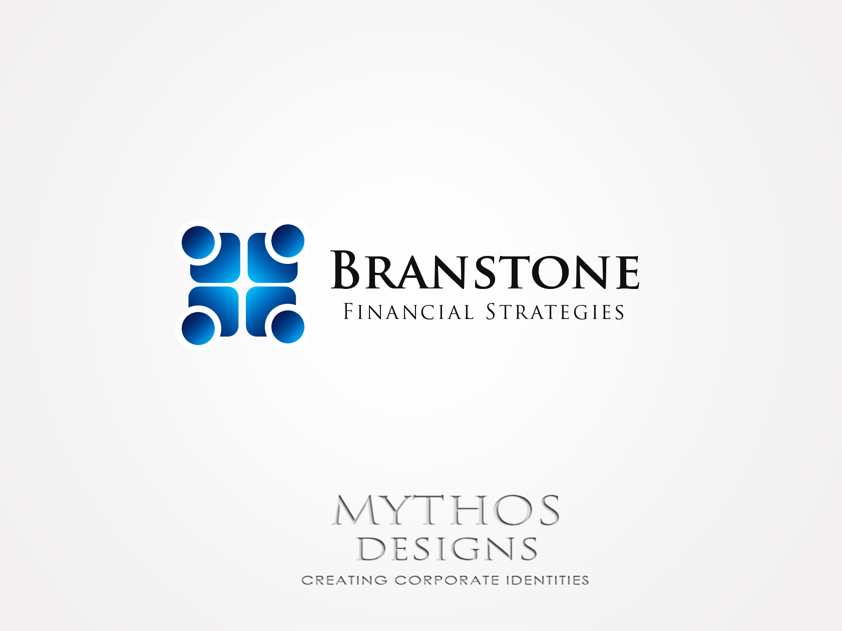 Logo Design by Mythos Designs - Entry No. 4 in the Logo Design Contest Inspiring Logo Design for Branstone Financial Strategies.