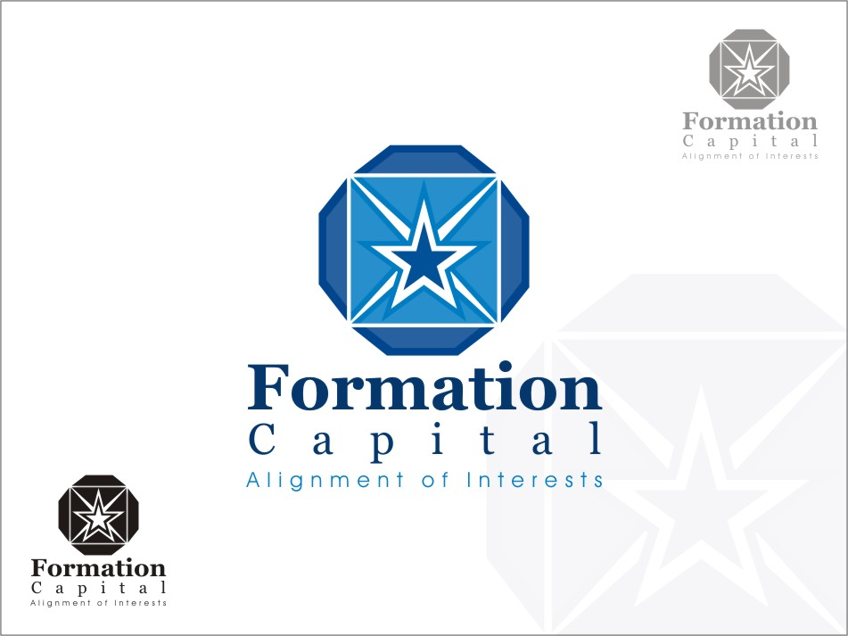 Logo Design by RED HORSE design studio - Entry No. 162 in the Logo Design Contest Inspiring Logo Design for Formation Capital.