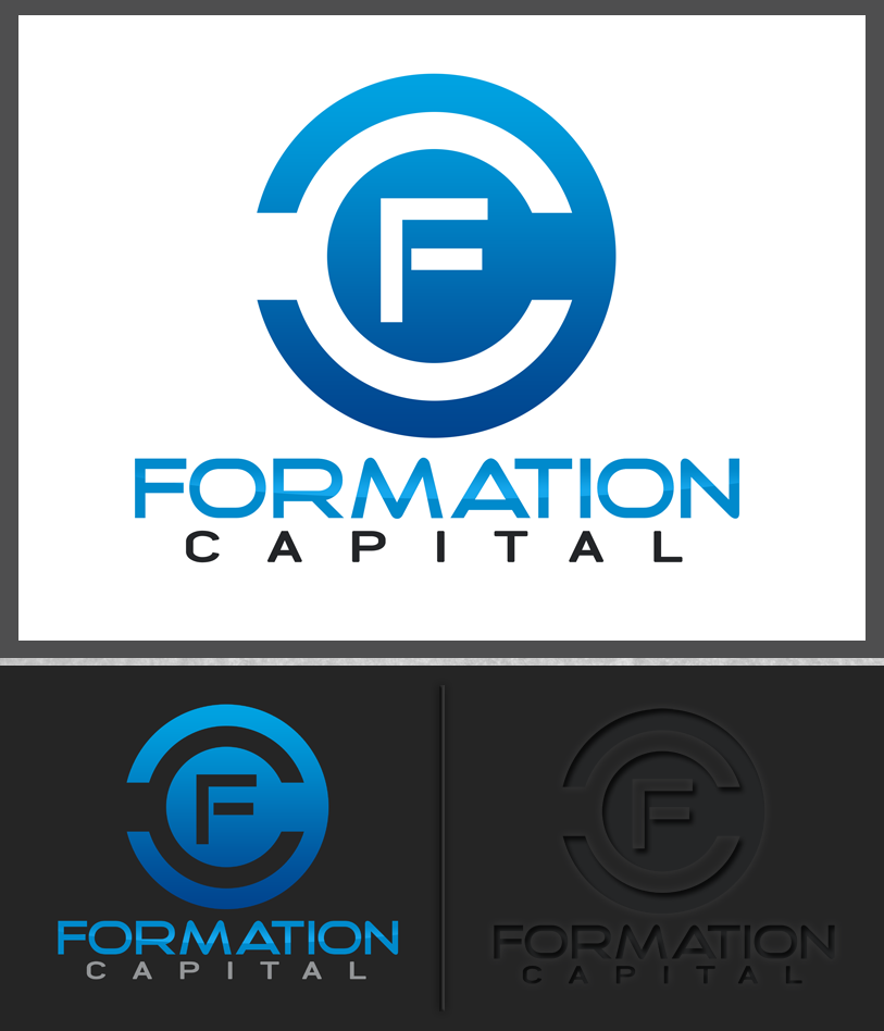Logo Design by Private User - Entry No. 170 in the Logo Design Contest Inspiring Logo Design for Formation Capital.