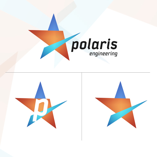 Logo Design by Dsprad - Entry No. 119 in the Logo Design Contest Polaris Engineering Ltd.
