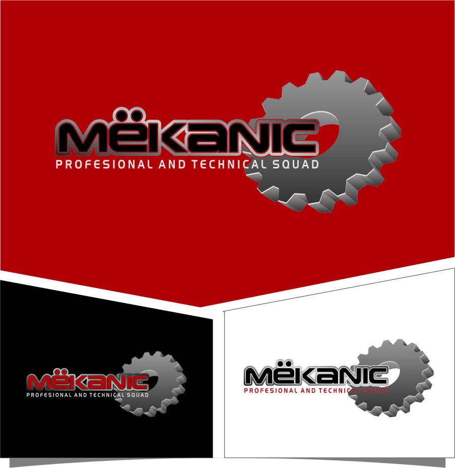 Logo Design by RasYa Muhammad Athaya - Entry No. 305 in the Logo Design Contest Creative Logo Design for MËKANIC - Professional and technical squad.