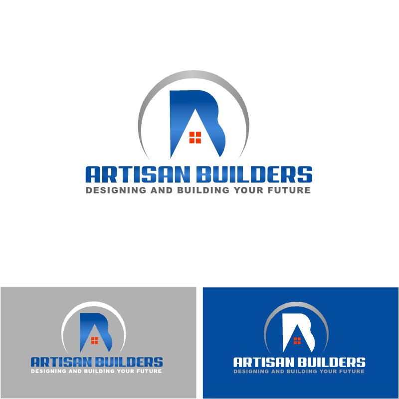Logo Design by RAJU CHATTERJEE - Entry No. 28 in the Logo Design Contest Captivating Logo Design for Artisan Builders.