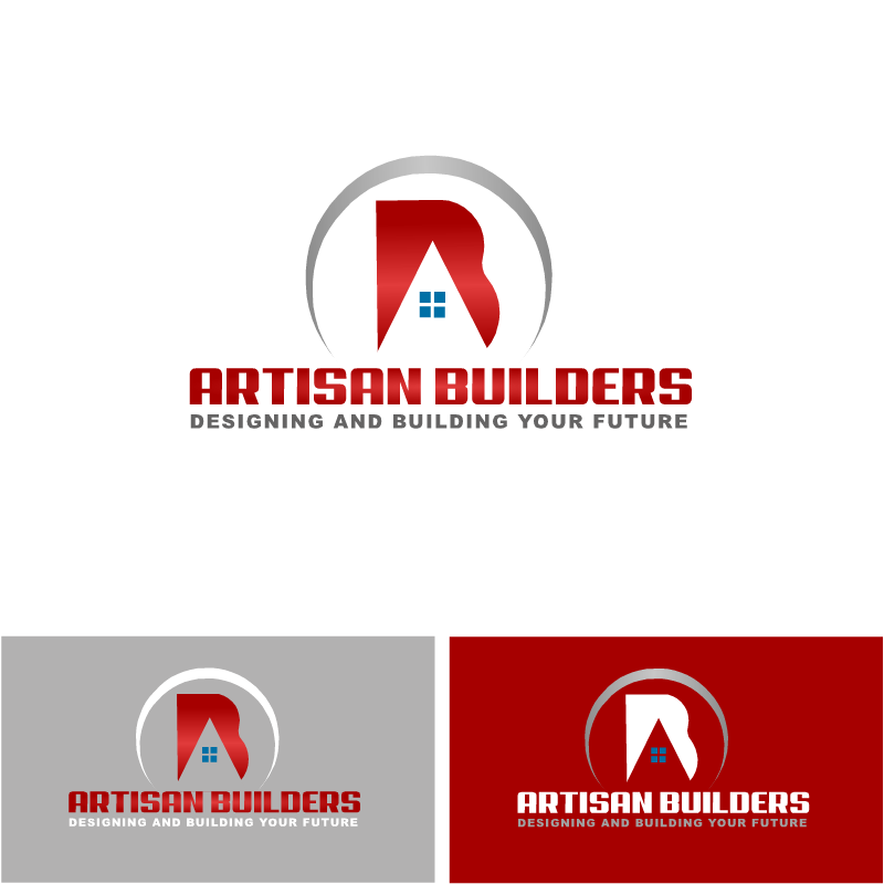 Logo Design by RAJU CHATTERJEE - Entry No. 29 in the Logo Design Contest Captivating Logo Design for Artisan Builders.