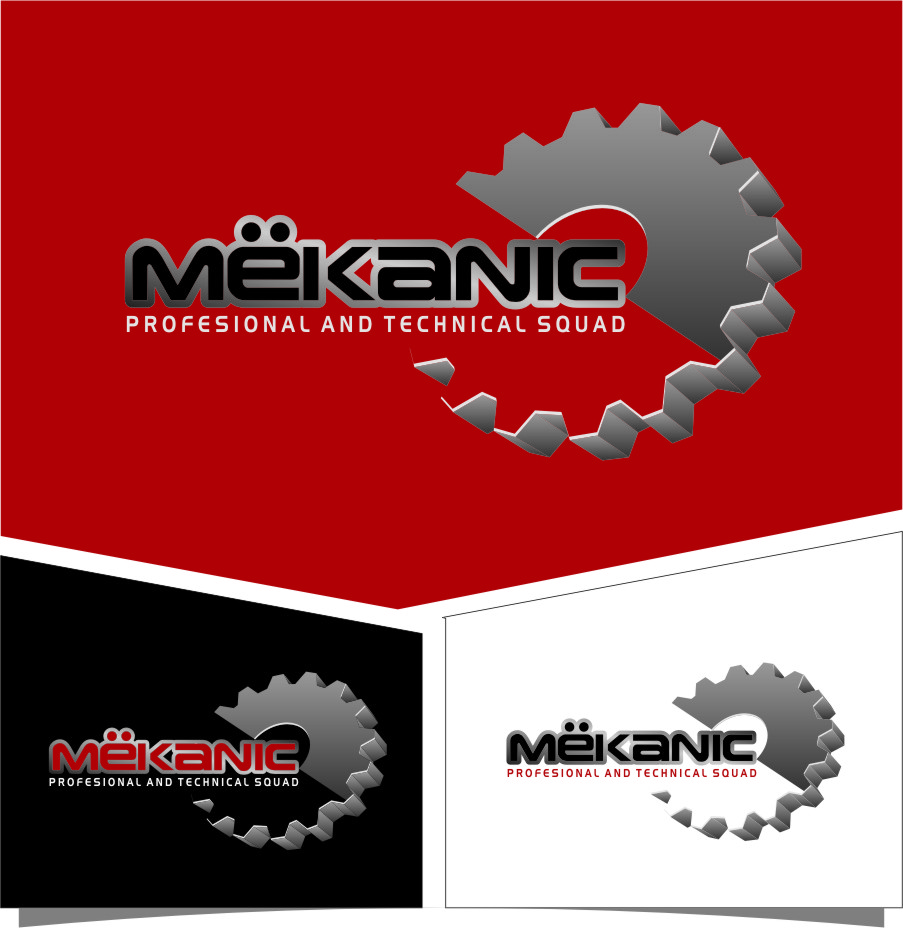 Logo Design by RoSyid Rono-Rene On Java - Entry No. 306 in the Logo Design Contest Creative Logo Design for MËKANIC - Professional and technical squad.