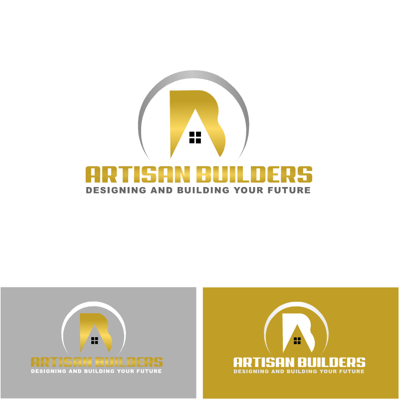 Logo Design by RAJU CHATTERJEE - Entry No. 31 in the Logo Design Contest Captivating Logo Design for Artisan Builders.