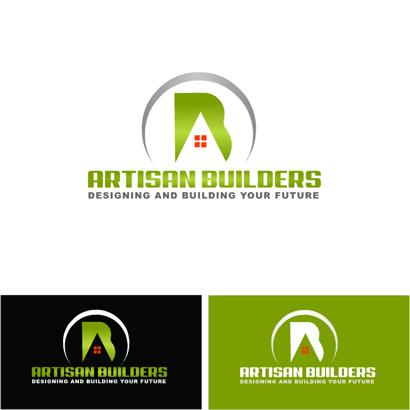 Logo Design by RAJU CHATTERJEE - Entry No. 32 in the Logo Design Contest Captivating Logo Design for Artisan Builders.