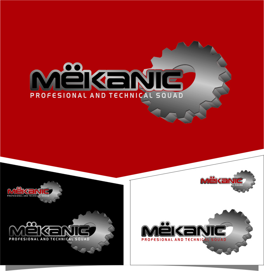 Logo Design by RasYa Muhammad Athaya - Entry No. 307 in the Logo Design Contest Creative Logo Design for MËKANIC - Professional and technical squad.
